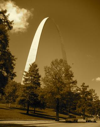 Todd Fox St. Louis Arch