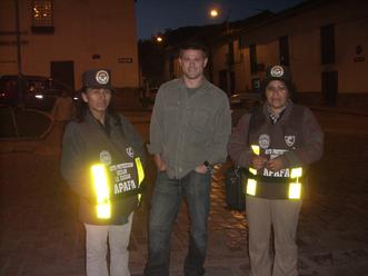 The kid patrol in Cusco Peru
