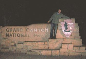 Todd Fox at the Grand Canyon