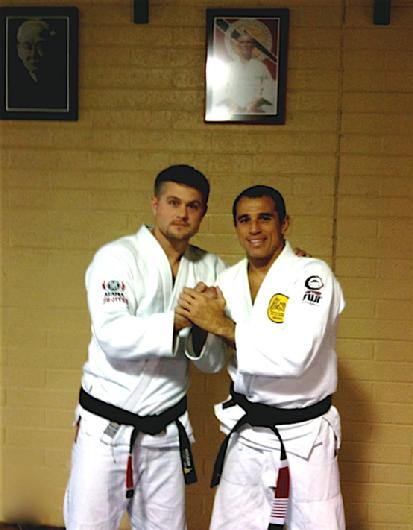 Todd Fox with Royer Gracie Jiu Jitsu Black Belt Champion