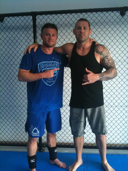 Todd Fox and Steve Oliver Jiu Jitsu Auckland New Zealand