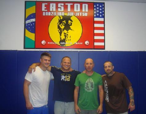 Jiu Jitsu at Amal Easton with Todd Fox, Maynard, and Sus