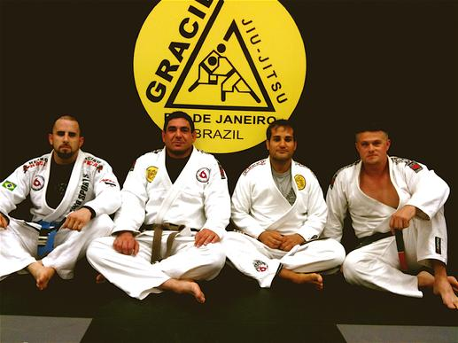 Todd Fox and Mauricio Villardo West Plam Beach Gracie Jiu Jitsu