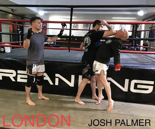 Josh Palmer Muay Thai London