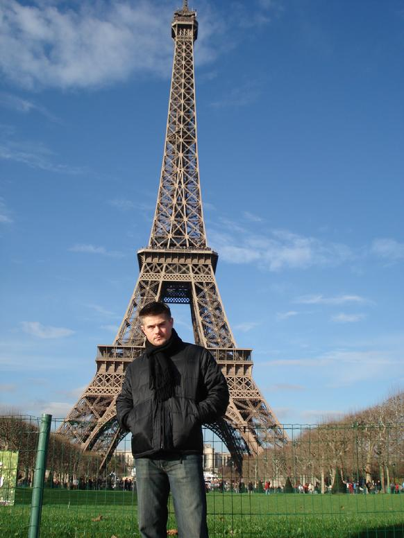 Todd Fox Paris France Effiel Tower
