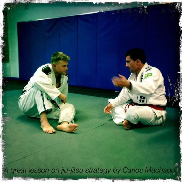 Carlos Machado Todd Fox Jiu Jitsu Black Belt
