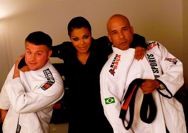 Janet Jackson Chokes Security Team Todd Fox Joey Maldonado