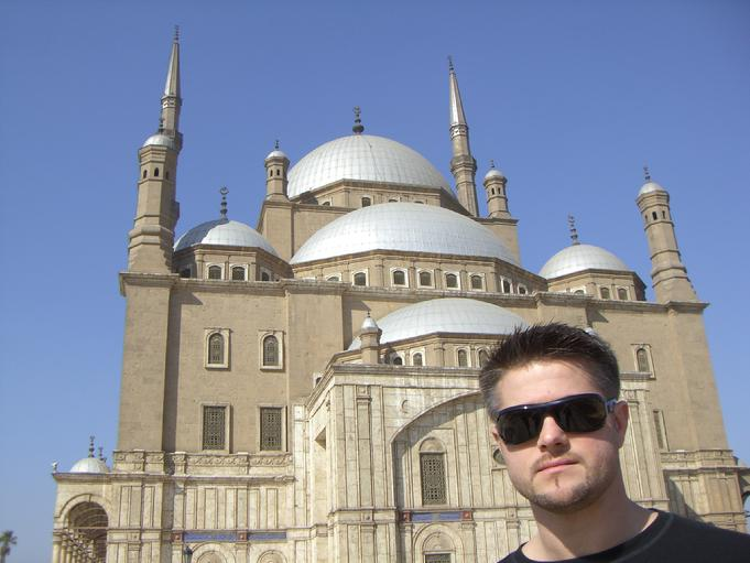 Todd Fox at Citidel Mosque Cairo