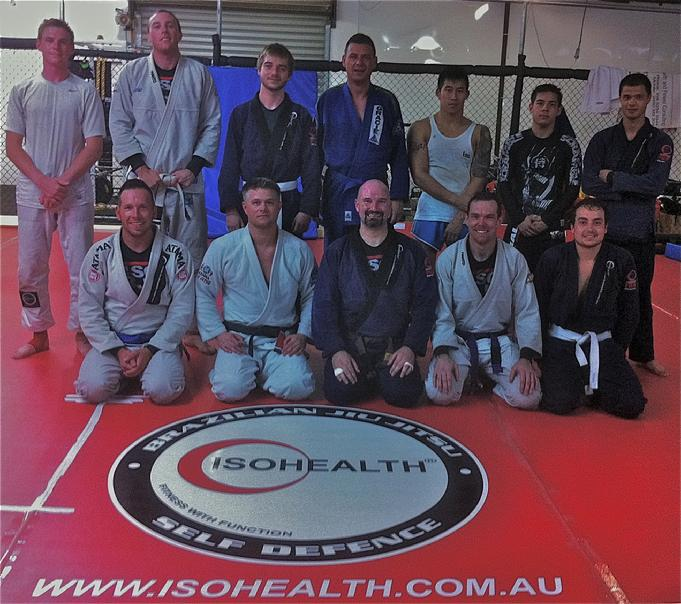 Todd Fox training in Australia