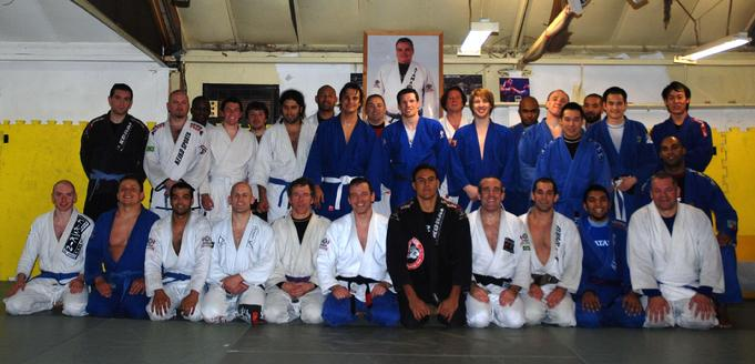Todd Fox's training friends and family in London. London Brazilian Jiu Jitsu.
