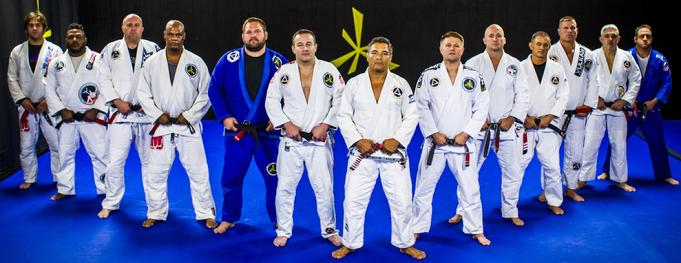 Team Rickson Gracie Team Vaghi Black Belts