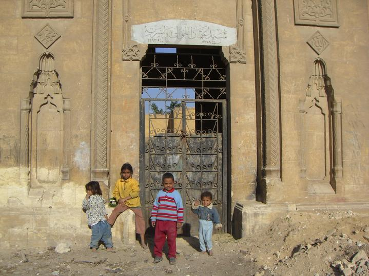 KIDS in CITY OF THE DEAD CAIRO EGYPT by Todd Fox