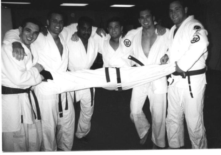 Todd Fox and member of Team Vaghi Jiu Jitsu