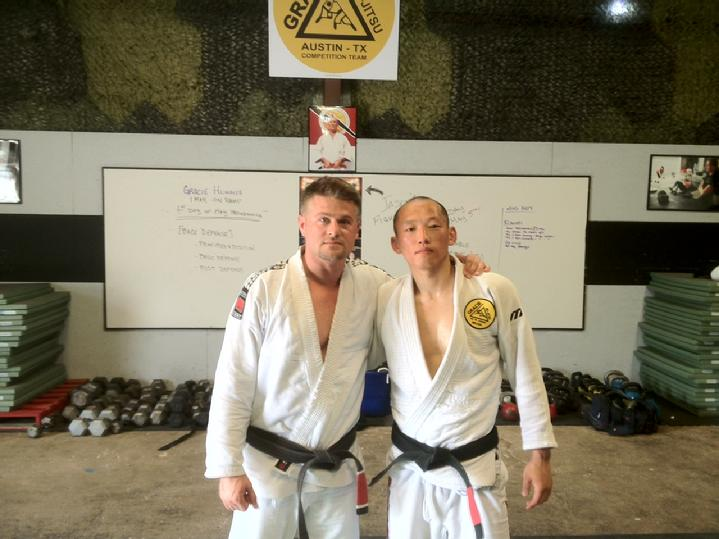 Todd Fox and Donald Park of Gracie Humaita